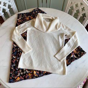 Banana Republic Italian Yarn Cowl Neck Sweater
